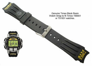 Timex Ironman Triathlon Flix 18mm Watch band fit T66801, T51931 (SW1)