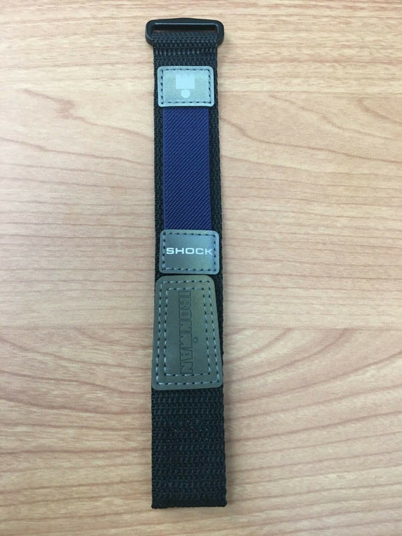 Timex Blue Ironman Nylon Watch Strap 18mm SW4