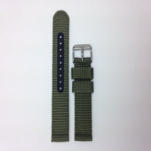 Seiko 20mm Military Automatic Green Nylon