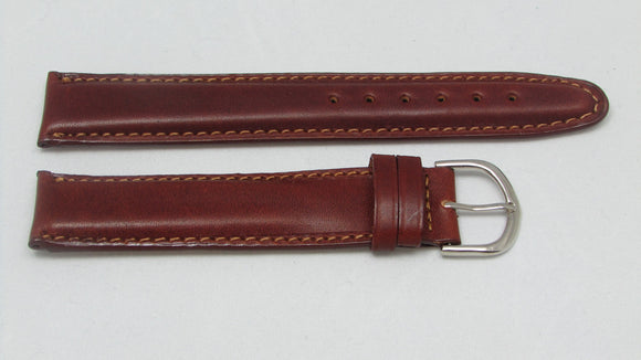 Seiko Brown Leather Watch band 20mm