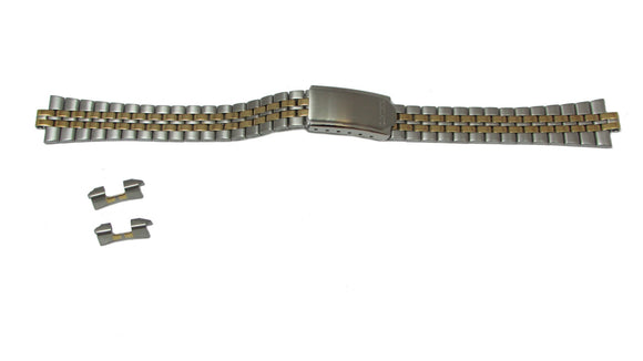 Seiko Dual Tone Metal Watch Band