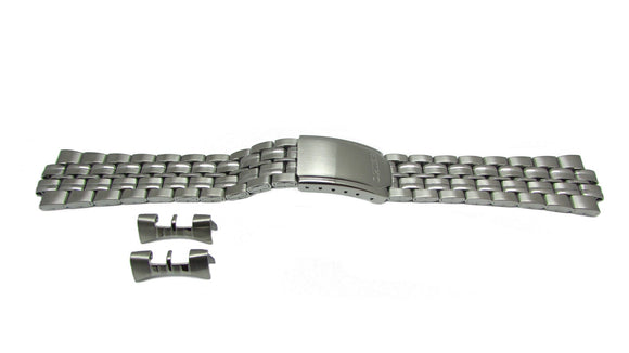 Seiko Stainless Steel 20mm Watch Band