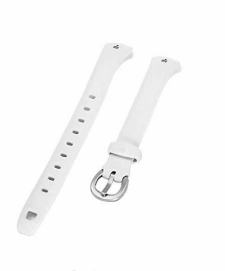 Timex T5K183 White 12mm Resin 30-Lap Replacement Watch Band/Strap