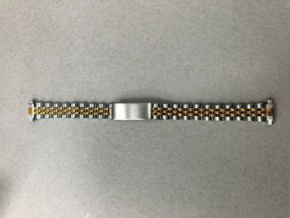 10-14mm Timex Two Tone Stainless Steel Ladies Watch Band TX1292