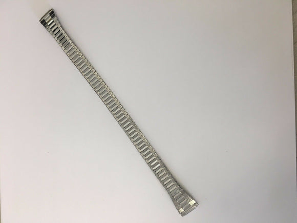 Timex Ladies LONG TX1296 Silver Stainless Steel 10-14mm Watch band