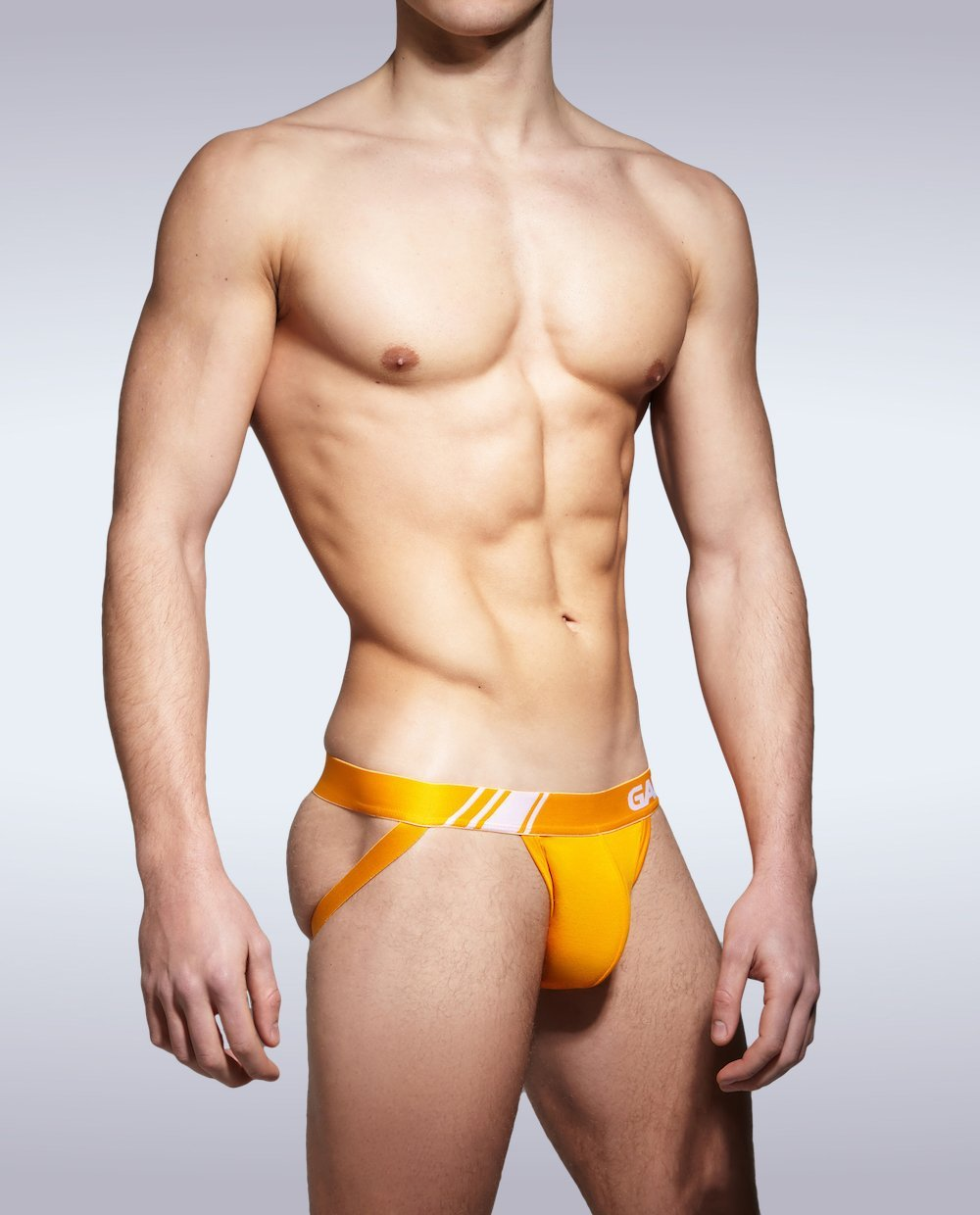 Orange Elite Sport Jocks - Garçon Underwear sexy men's underwear Jockstraps Garçon Underwear