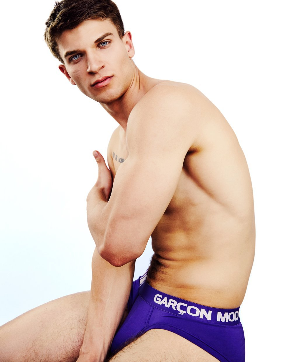 Purple Elite Sport Brief - Garçon Underwear sexy men's underwear Briefs Garçon Underwear
