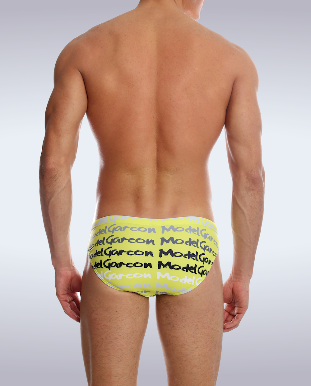 Yellow Graffiti Swim Brief - Garçon Apparel