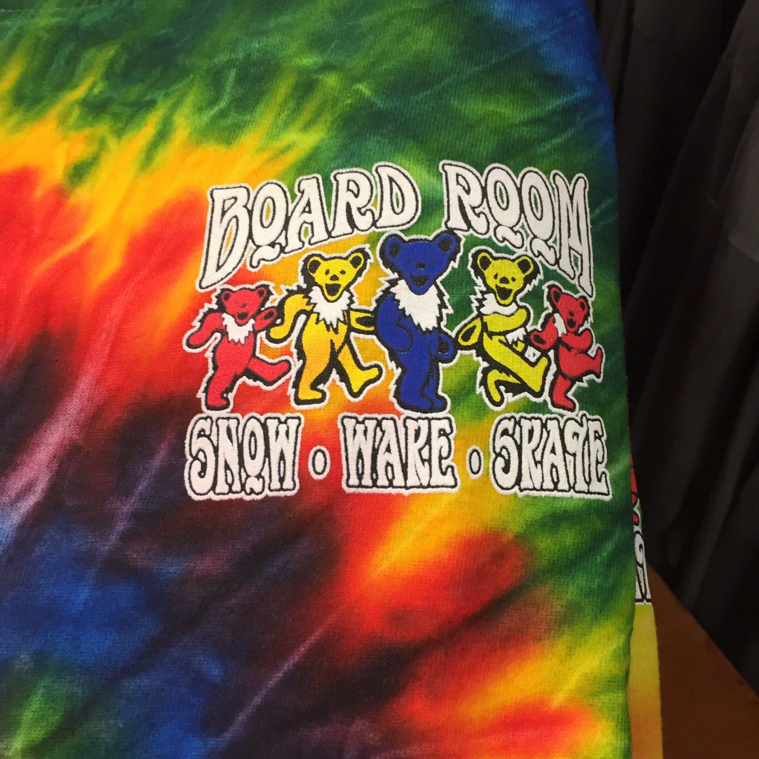 BOARD ROOM NORTH CAROLINA TIE DYE T SHIRT
