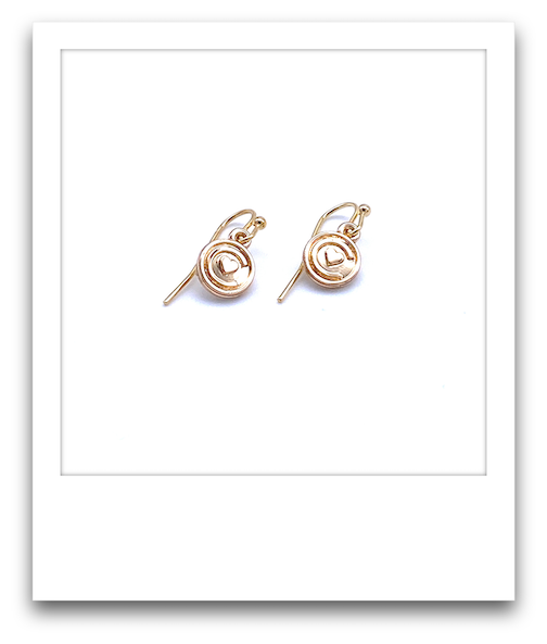 Pair of Cascabelle Earrings  |  Gold