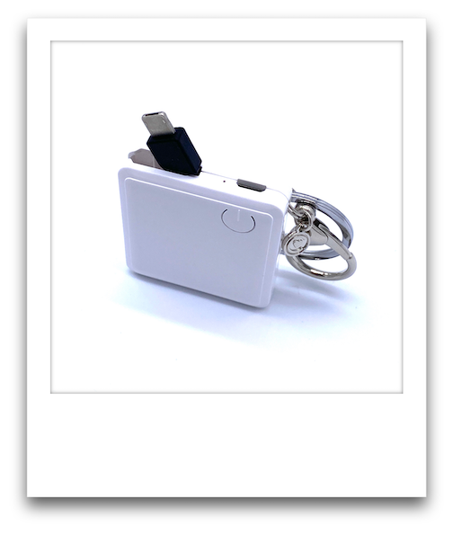 Mobile Charger  |  White