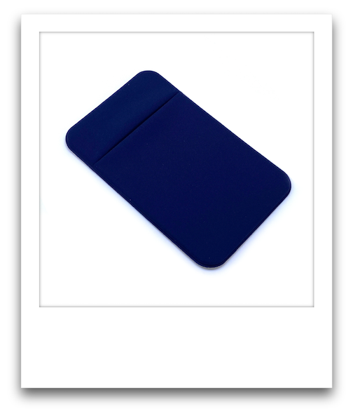 Phone Pouch  |  Navy Blue
