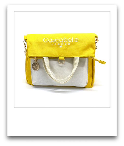 Switch Bag  |  3-in-1 Tote Bag, Crossbody Bag & Backpack  |   Yellow