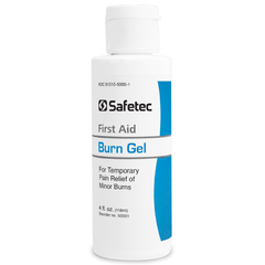 Safetec Burn Gel, 4 oz. Squeeze Bottle