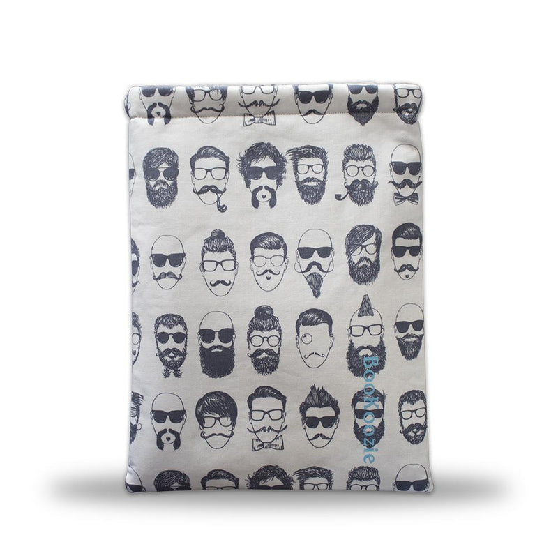 Bookoozie - Man Beard Print - Nickel City Innovations, Inc.