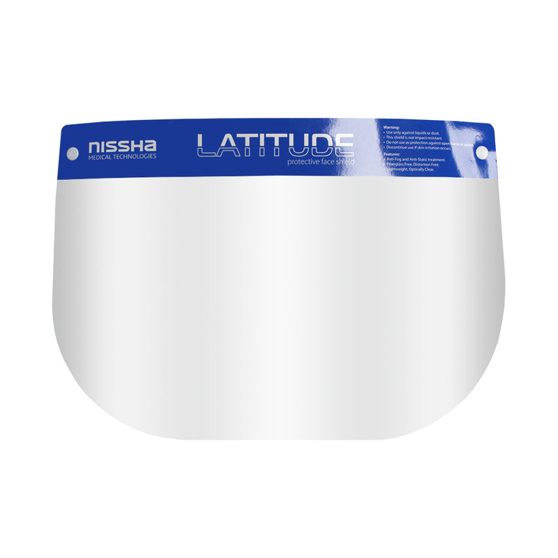 Latitude Protective Face Shield (available in a variety of sizes)