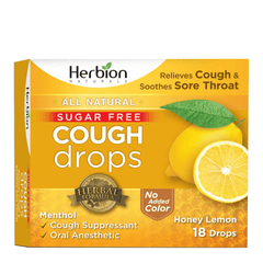 Herbion Sugar-Free Honey Lemon Cough Drops - Nickel City Innovations, Inc.