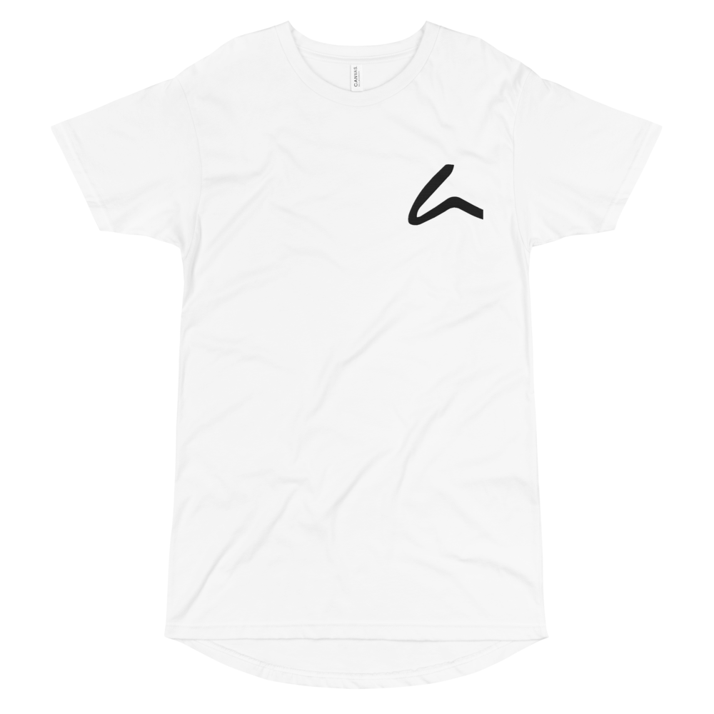 House Of Artem Classic White Long Body Tee