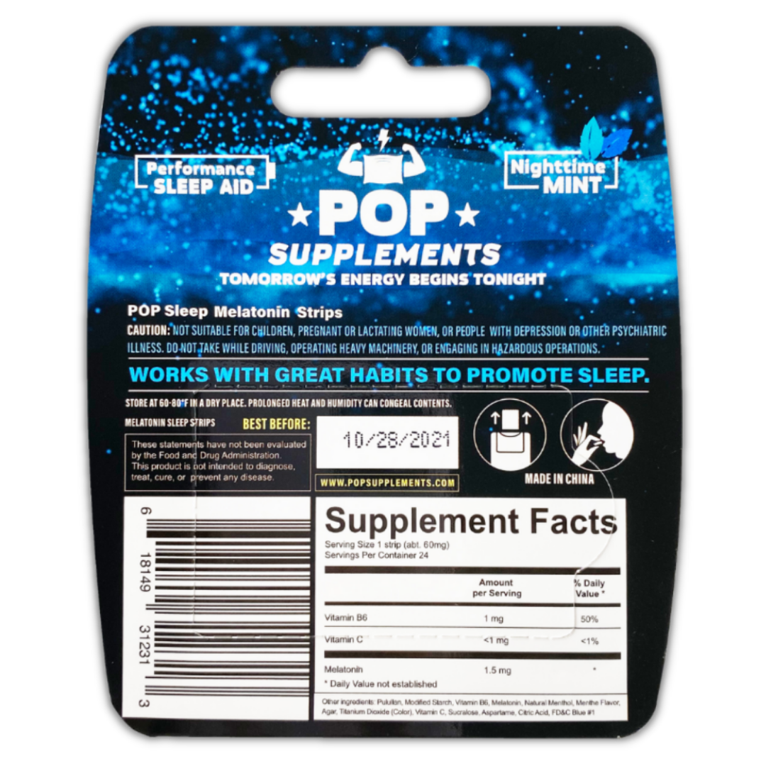 POP Sleep Supplement