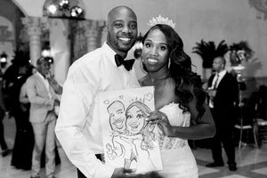 Live Caricature (Hourly Rate $195) No Package
