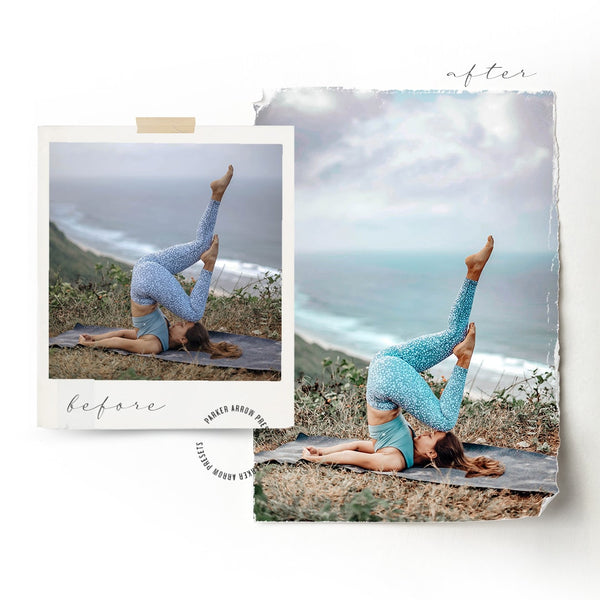 Yoga Lightroom Presets for Fitness Photos