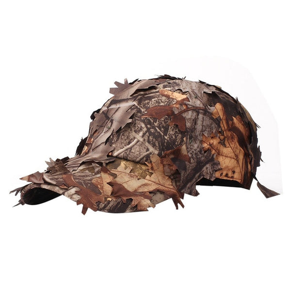 Tactical Cap with Bionic Leaf Army Camo