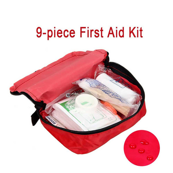 9PC Outdoor Emergency Survival Kit