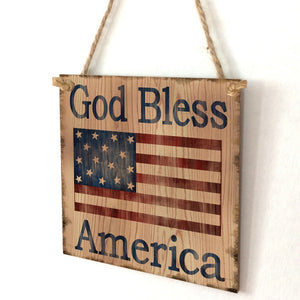 American Wooden Home Decoration Crafts