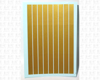 Straight Line Stripes - Decal - Choose Size and Color
