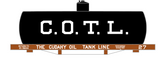 Cudahy Oil Tank Line Early Shorty Tank Car White - Decal