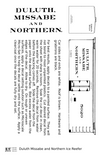 Duluth Missabe & Northern Ice Reefer Black Pre-DMIR Iron Range - Decal