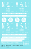 Minneapolis and St Louis Three Bay Hopper MSTL - Decal Sheet