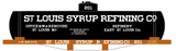 St Louis Syrup Refining Co Early Tank Car White - Decal