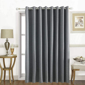 North Hills Home Grommet Panel Curtains Ash Grey/Stone/Pewter/Indigo Blue Belmar For Indoor and Commercial Use