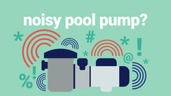 how to troubleshoot a noisy pool pump