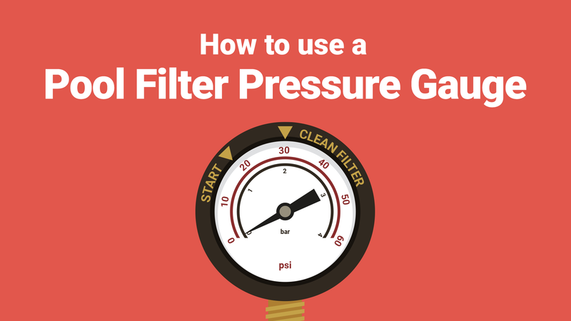 All You Need to Know About Your Pool Filter Pressure Gauge