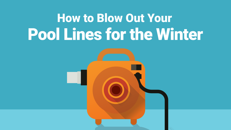 How to Blow Out Your Pool Lines for the Winter—In Ten Easy Steps