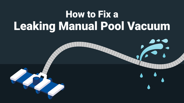 How to Fix a Leaking Manual Pool Vacuum Hose—Fast