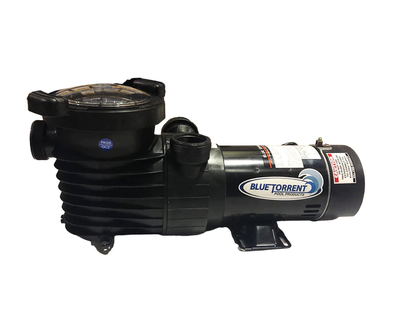 2HP HURRICANE PUMP-DUAL PORT ON-OFF SWITCH/STANDARD PLUG