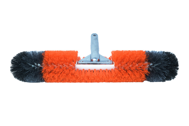 "BLACK+DECKER 360-Degree Bristles Pool Brush 18"" Patented and Professional-Endorsed"