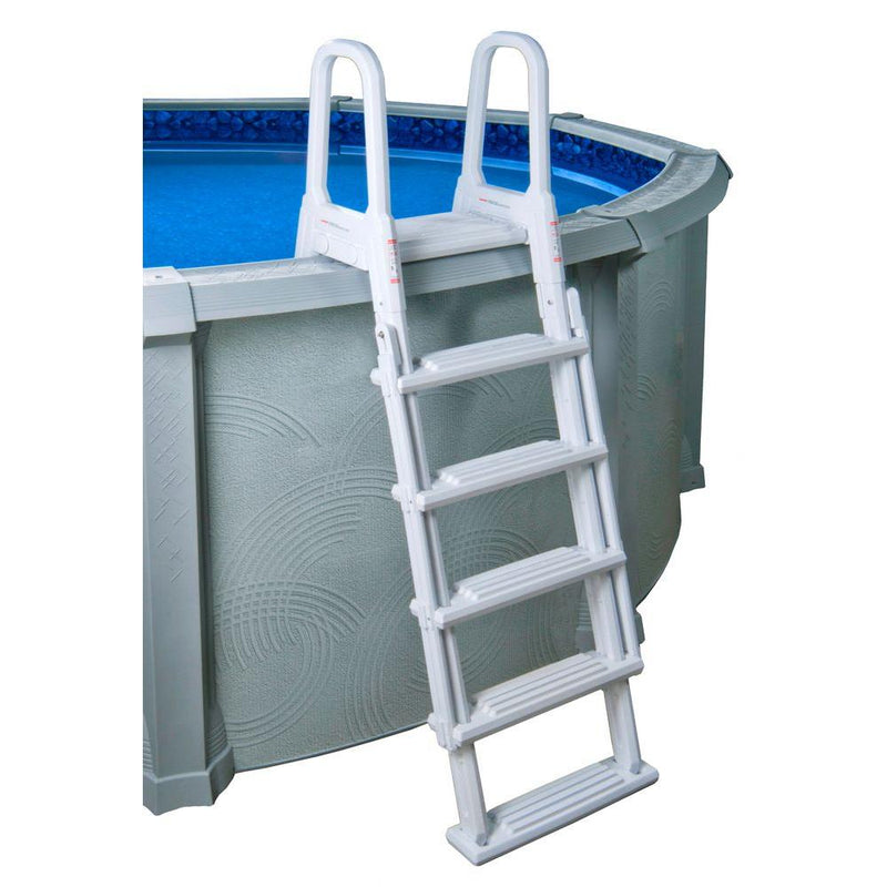 A-Frame Flip Up Pool Ladder for Above Ground Pools