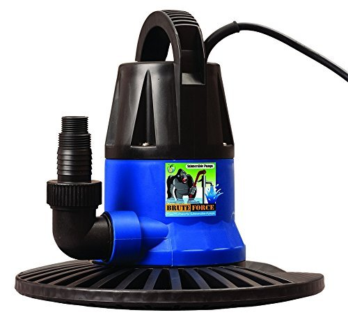 Brute Force 1250 GPH Pool Cover Pump