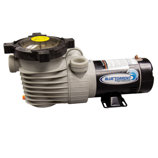 1.5 HP Single Speed Dual Port Flow Force Replacement Pump for Above Ground Pools With On/Off Switch
