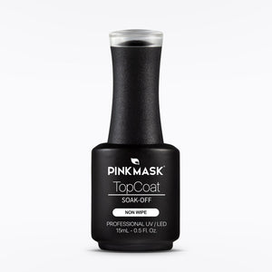 Load image into Gallery viewer, Top Coat - Non Wipe - Pink Mask USA - Gel Color - Gel Polish
