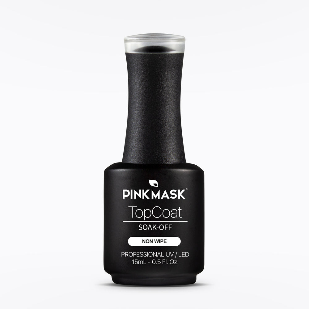 Top Coat Matte - Non Wipe - Pink Mask USA - Gel Color - Gel Polish