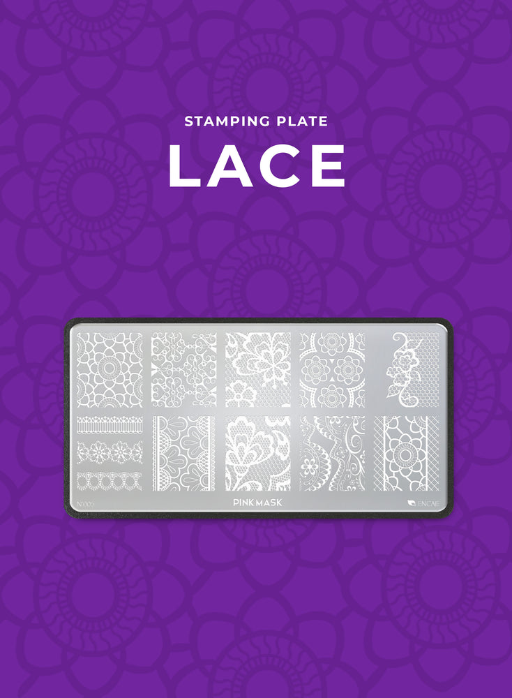 Stamping Plate: LACE