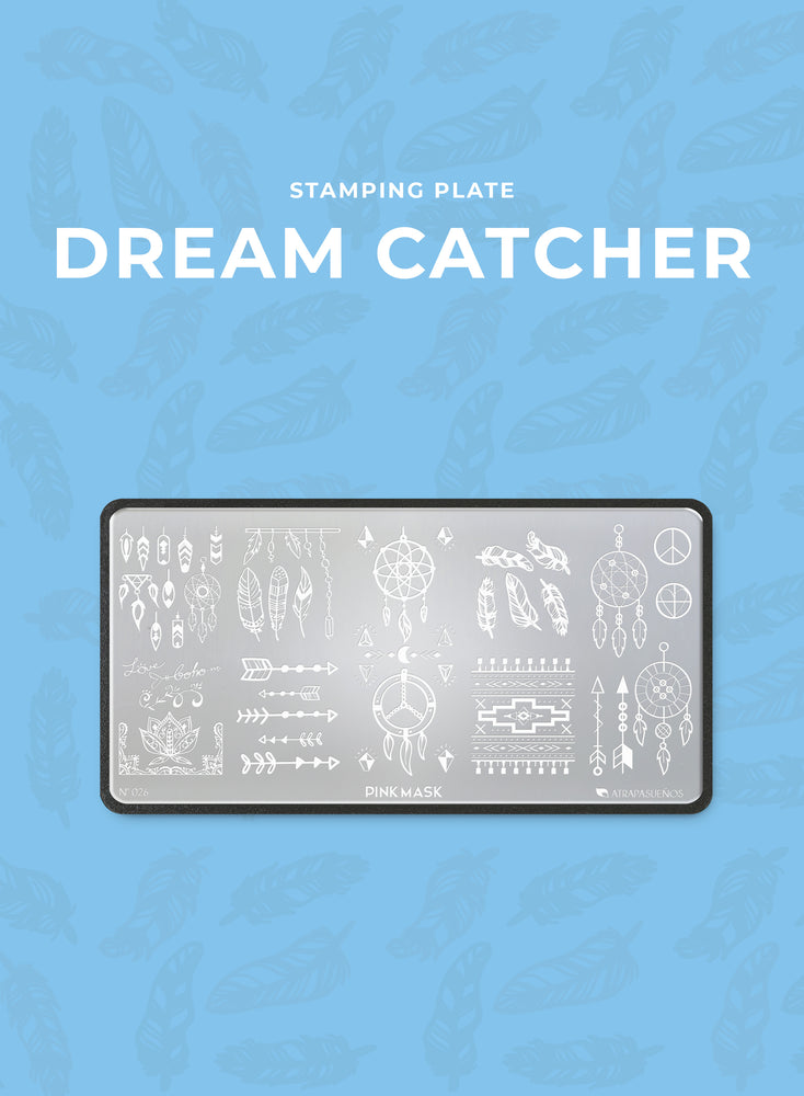 Stamping Plate: DREAM CATCHER
