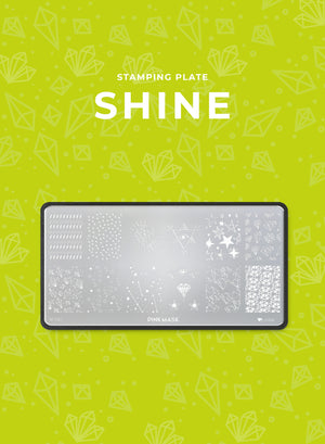 Load image into Gallery viewer, Stamping Plate: SHINE - Pink Mask USA - Stamping Plates - Gel Polish