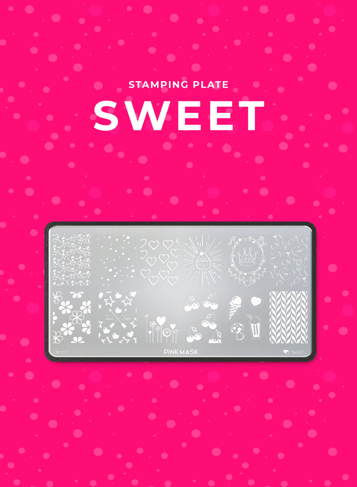 Stamping Plate: SWEET