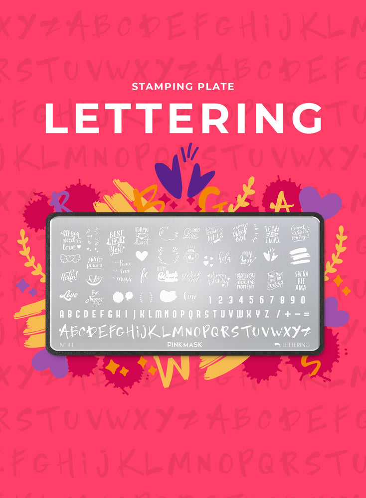 Stamping Plate: LETTERING